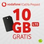 [Letzte Chance] 😲 3 Monate GRATIS: 10GB LTE + Allnet Vodafone CallYa Prepaid (mtl. kündbar)