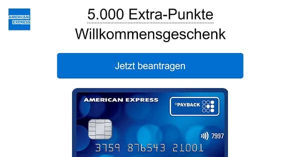 amex 5000 punkte uebersicht