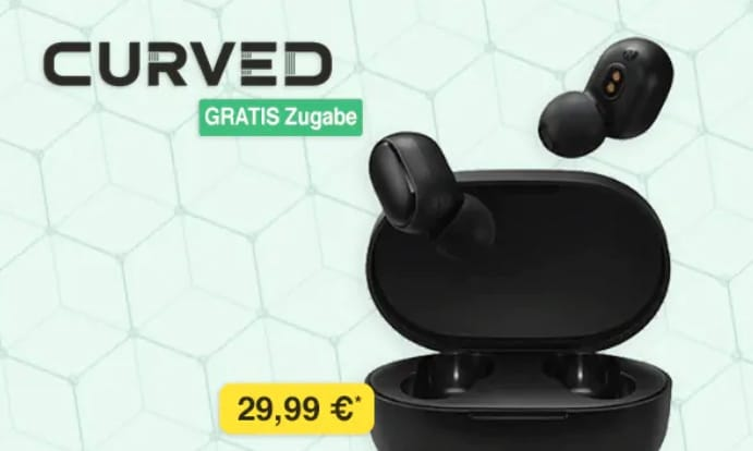 curved earbuds
