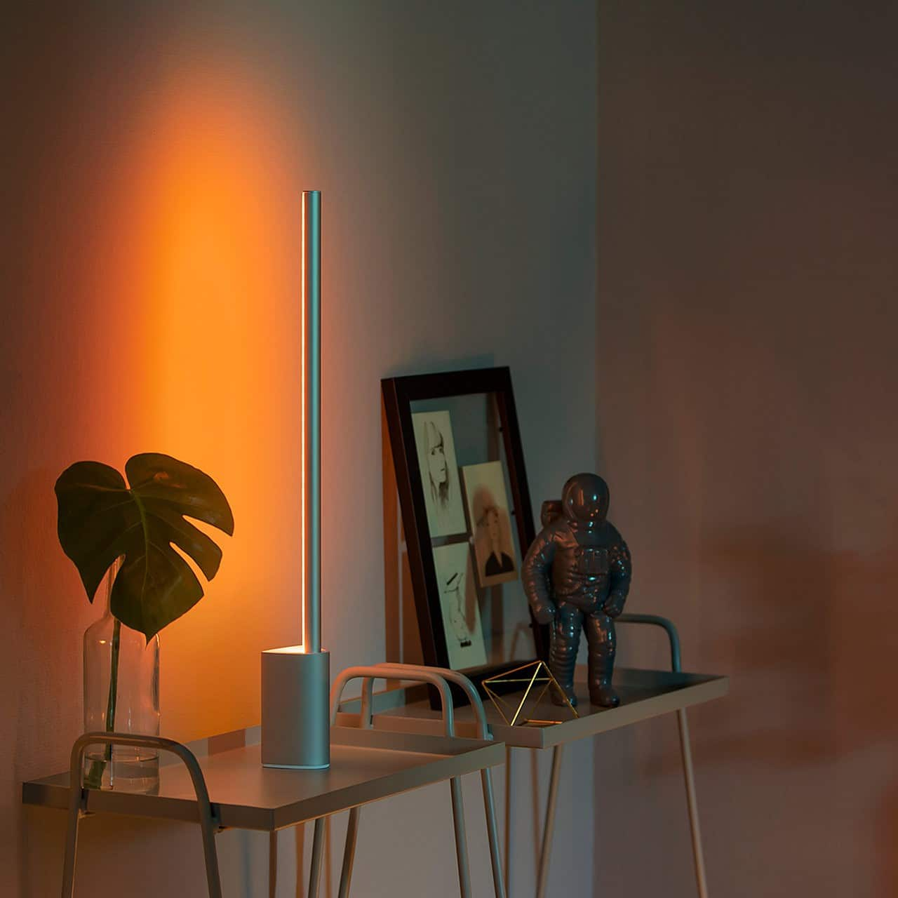 philips hue 2x signe table light hue bridge bundle