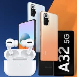 AirPods Pro Xiaomi Redmi Note 10 Galaxy A32 5G