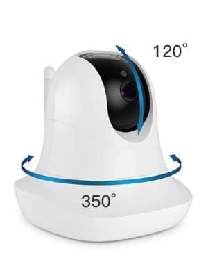 CACAGOO Babyphone mit Kamera 3.5 Cloud Speicher und Baby Monitor kamera