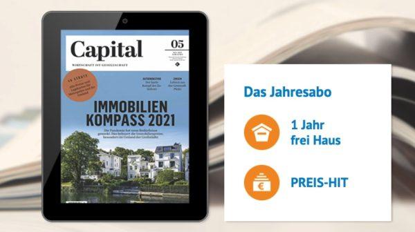 Capital als E-Paper im Jahresabo für nur 5€