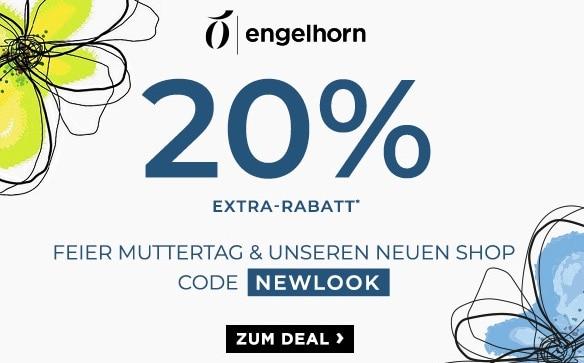 Engelhorn 20 Prozent auf Mode