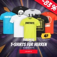 Fortnite Herren T-Shirts für 4,99€