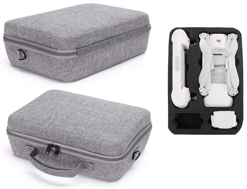 GCDN Wasserdichte Drohnentasche harte Aufbewahrungsbox Schultertasche tragbare Handtasche Tragetasche fuer Xiaomi FIMI X8 SE 2021 04 27