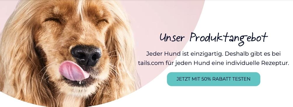 Individuelles Hundefutter  tails.com 2021 04 19