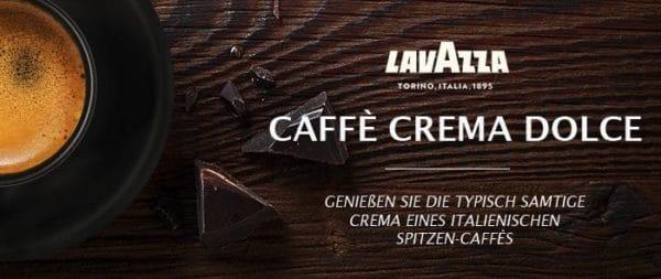 Lavazza Kaffeebohnen Caffe Crema Dolce Kaffee