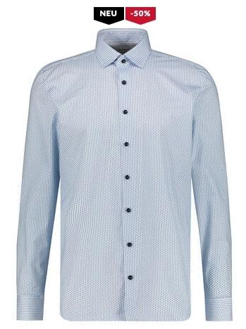 OLYMP LEVEL FIVE Herren Hemd Modern Fit Langarm
