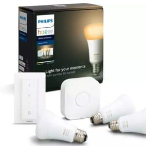 PHILIPS Hue White Ambience E27 3-er Bluetooth Starter Kit