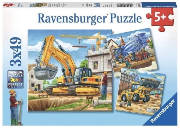 Ravensburger Kinderpuzzle 09226   Grosse Baufahrzeuge   3 x 49 Teile Amazon.de Spielzeug 2021 04 13