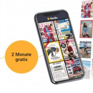 2 Monate gratis 📚 Playboy, GameStar, BamS, Sport Bild & mehr mit Readly