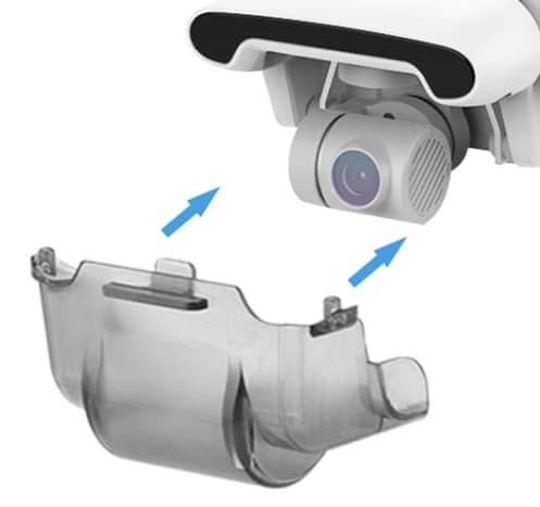 Staubdicht Schutzhuelle Schutz Schutz Abdeckung Objektiv Kappe fuer FIMI X8 SE 2020 Gimbal Kamera Halterung Drone ZubehoerDrone A 2021 04 27