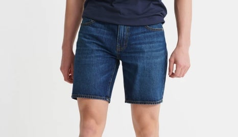 Superdry Jeansshorts 05 Conor Taper Dunkelblau