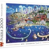 Trefl Puzzle San Francisco Bay 2000 Teile USA Premium Quality fuer Kinder ab 15 Jahren Amazon.de Spielzeug 2021 04 13