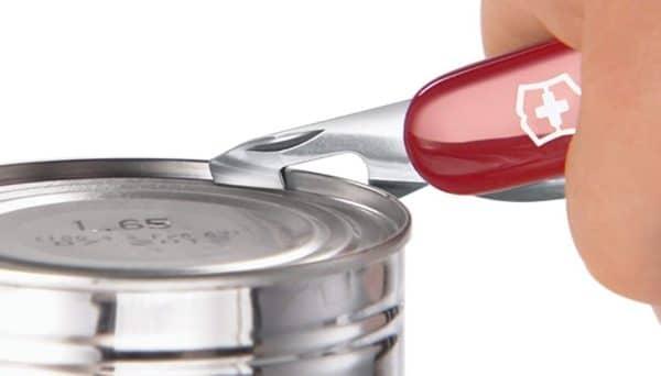 Victorinox Taschenmesser Deluxe Tinker z.B. als Dosenöffner