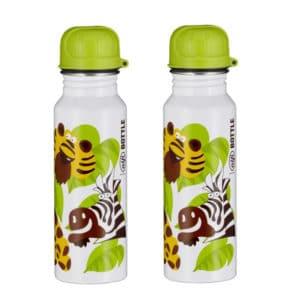 2x alfi Edelstahl-Trinkflasche für Kids (BPA-frei & spülmaschinenfest) 🥤🦒