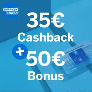 Endet heute! 💳 Geniale 85€ Bonus für kostenlose American Express Blue Card