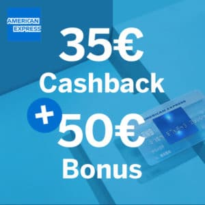 💳 Kostenlose American Express Blue Card + 35€ Startguthaben + 50€ Bonus
