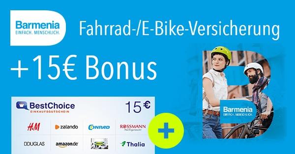 barmenia fahrrad versicherung