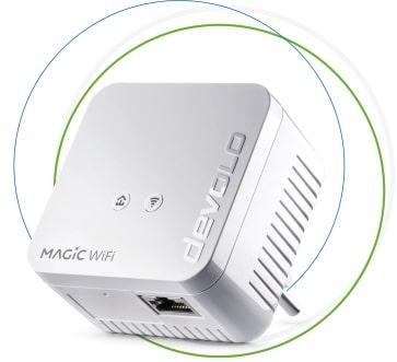 devolo Magic 1 WiFi mini Powerline Einzeladapter