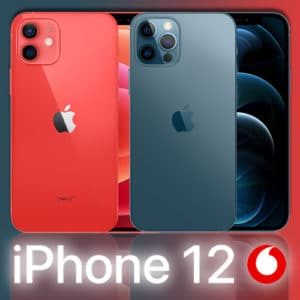 iPhone 12 (Mini) // iPhone 12 Pro (Max)  📲  Vodafone Smart XL mit 30-40GB 5G ab 39,99€ mtl.