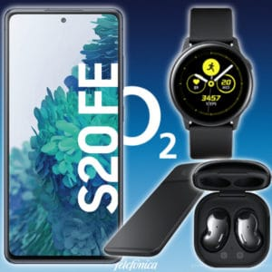 o2 s20fe watch buds charger