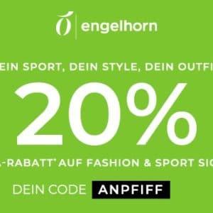 [Endspurt] Eterna, Olymp, Tom Tailor & mehr 👕🧥 20% Gutschein auf ausgewählte Mode bei Engelhorn