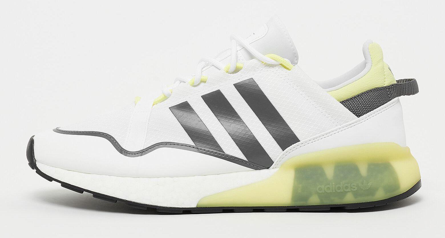 ADIDAS ORIGINALS ZX 2K BOOST PURE Sneaker ftw weiss gruen e1630146202370