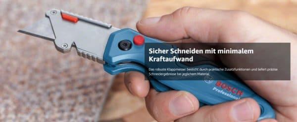 Bosch Professional Universal Klappmesser