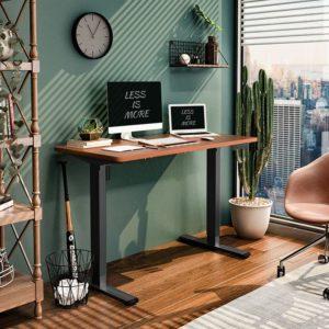 [Bestpreis] Elektr. höhenverstellbarer Schreibtisch mit Tischplatte(!) ab 195€ 🖥🧍♀️