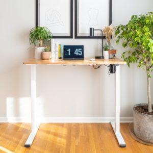 Elektr. höhenverstellbarer Schreibtisch ab 175€ // mit Platte für 265€ 🖥🧍♀️