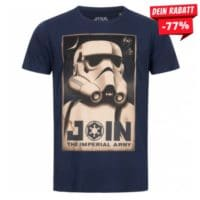 GOZOO x Star Wars Join Imperial Army Herren T-Shirt GZ-9-STA-929-M-BL-1
