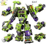 Klemmformers 6 in 1 Roboter aus Klemmbausteinen Deal
