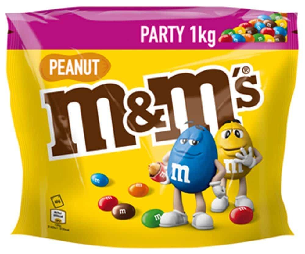 M Ms Peanut Partypack 1kg