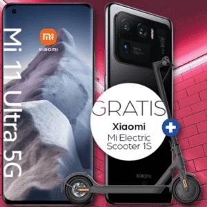 Mi 11 Ultra 5G gratis E Scooter