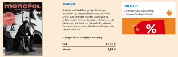 Monopol Schnupperabo
