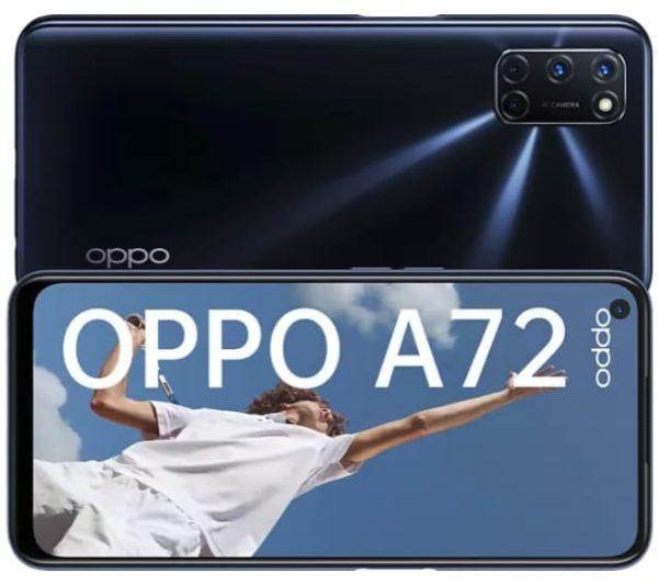 OPPO A72 128 GB Twilight Black Dual SIM