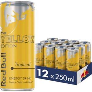 Red Bull Energy Drink Tropical Dosen Getraenke Yellow Edition 12er Palette EINWEG 12 x 250 ml  Amazon.de Lebensmittel  Get 2021 10 14 12 22 20