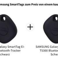 SAMSUNG Galaxy SmartTag EI-T5300 Bluetooth-Tracker Schwarz