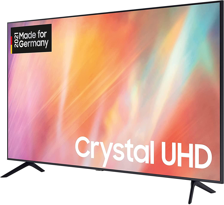 Samsung Crystal UHD 4K TV 50 Zoll GU50AU7179UXZG schraeg