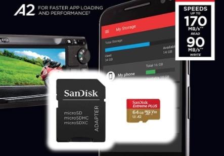 SanDisk Extreme Plus 64GB microSDXC