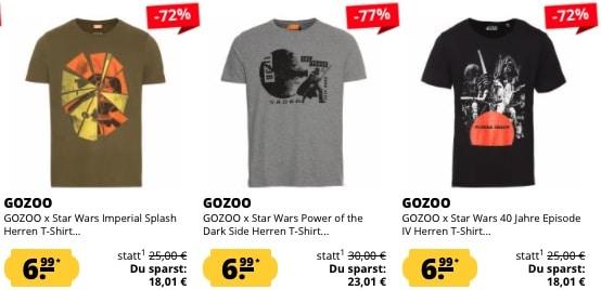 Sportspar Star Wars Shirts