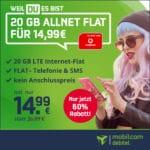 [Last Call] Vodafone Allnet-Flat mit 20GB LTE (50 Mbit/s) für 14,99€ mtl.  // 40GB (100 Mbit/s) für 22,99€ mtl.