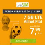 Flexible o2 LTE Allnet-Flats, z.B. 7GB für 7,99€ / 10GB für 9,99€ & mehr (Drillisch)