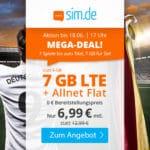 😲💥Flexible o2 7GB LTE Allnet Flat für 6,99€