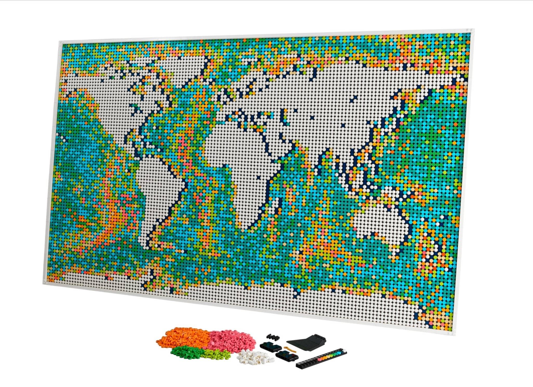 31203   Lego Weltkarte