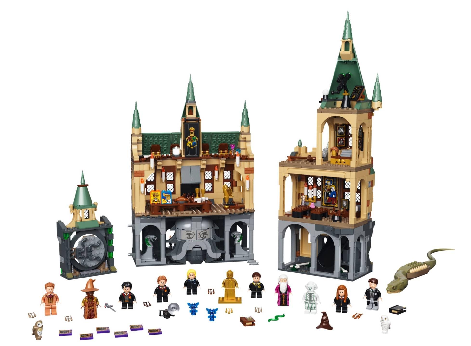 76389 Lego Harry Potter 22Hogwarts Die Kammer des Schreckens22 1.176 Teile