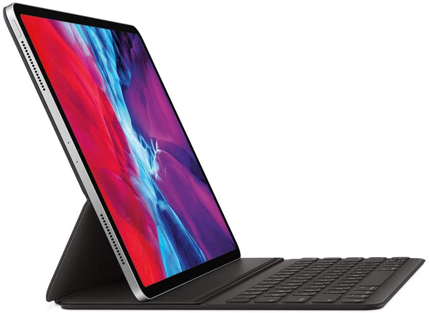 Apple Smart Keyboard fuer 12.9 inch iPad Pro   4. Generation seitliuch