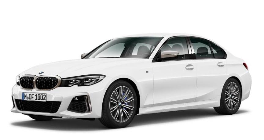 BMW M340i xDrive Limousine vorne schraeg